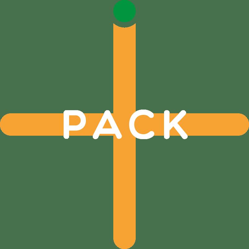 Pack-plus-min